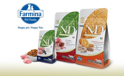Сочетание науки и природы в сухих кормах для кошек и собак Фармина (Farmina)!