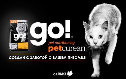Сухой корм для кошек Go! (Гоу) – питание на основе сельскохозяйственных продуктов и свежего мяса!