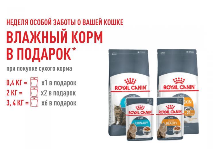 ЛЕКЦИИ ОТ Royal Canin