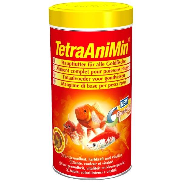Корм основной для золотых рыбок Tetra AniMin Goldfish  хлопья