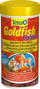 Хлопья для усиления окраски золотых рыб TETRA Goldfish Color