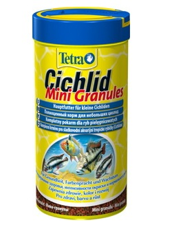 Специальный корм для цихлид TETRA Cichlid Mini Granules 250мл