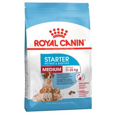 Сухой корм для щенков средних пород Royal Canin, Starter Medium