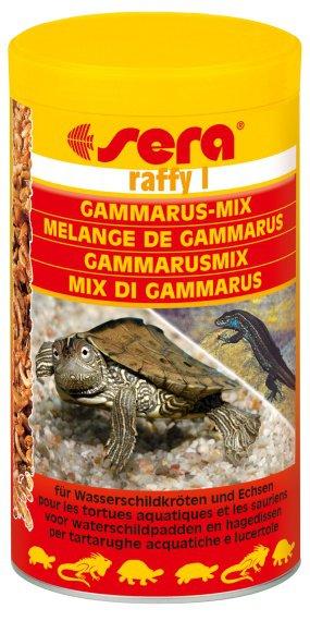 Корм для ящериц, сухопутных, водных черепах SERA Раффи 1 250мл