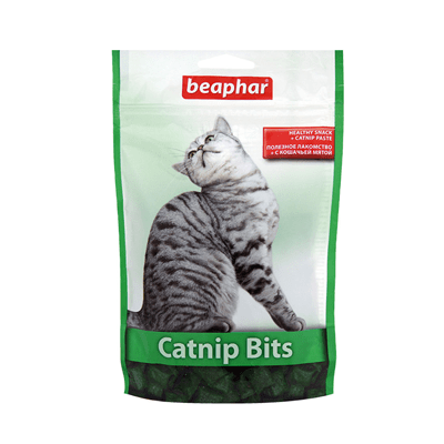 Витамины для кошек Беафар Катнип-Битс