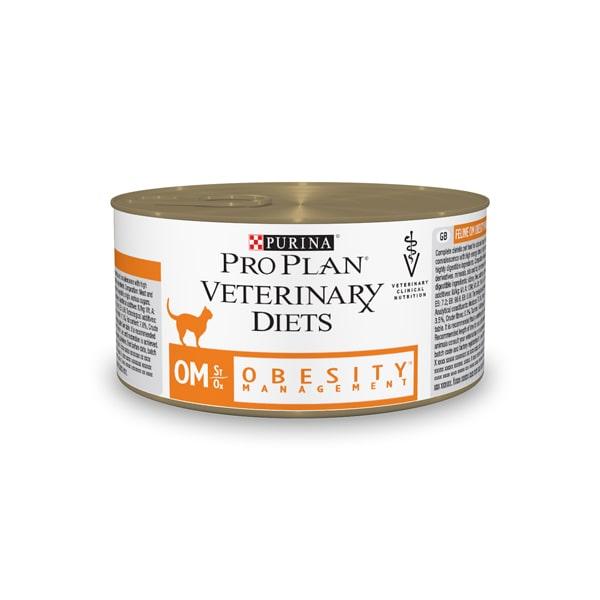 Ветеринарный влажный корм для кошек Purina ProPlan Veterinary Diets при ожирении