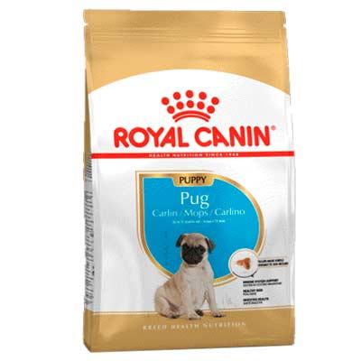 Сухой корм для щенков Royal Canin, Мопс