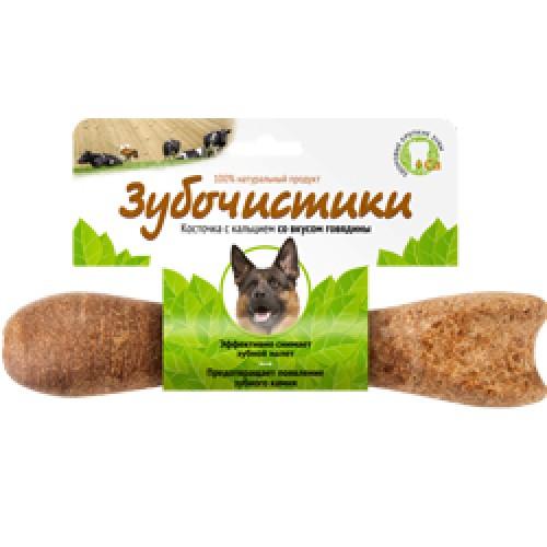 Лакомство для собак Зубочистики для крупных пород Деревенские лакомства Говядина