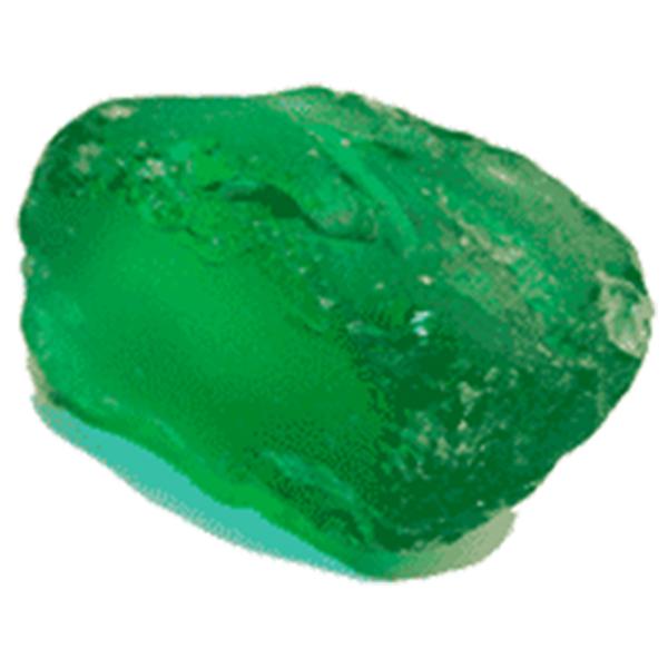 Грунт Барбус 034 хрустальные Кристаллы, Зеленый