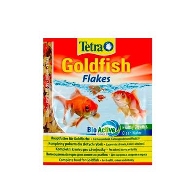 Хлопья основной корм для золотых рыб