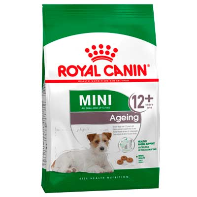 Сухой корм для пожилых собак мелких пород Royal Canin, Mini Ageing +12