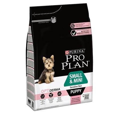 Сухой корм для щенков мелких пород ПроПлан (Pro Plan) Лосось и рис