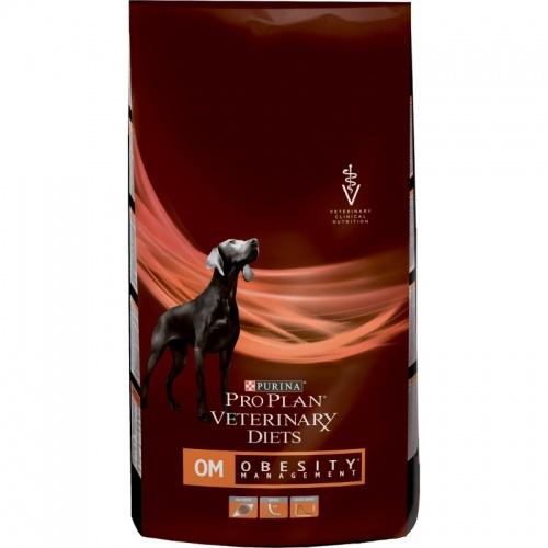 Ветеринарный сухой корм для собак Пурина (Purina) ОМ при ожирении