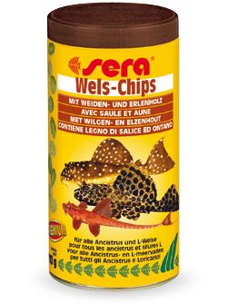 Чипсы для сомиков Wels-chips SERA