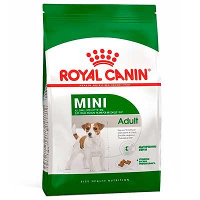 Сухой корм для собак малых пород Royal Canin, Mini Adult