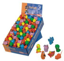 Игрушка для собак Зверюшки 5-6 см латекс