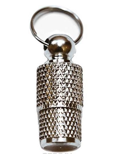 Адресник для собаки капсула бронза 25 мм