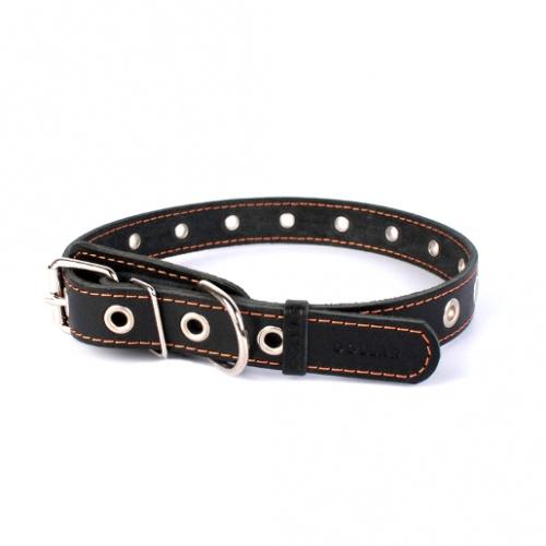 Ошейник для собаки collar безразмерный 25 мм 60 см черный