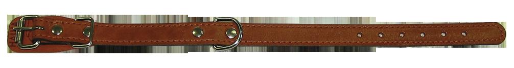 Кожаный ошейник для собаки 18 наша рр