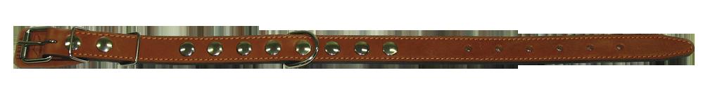 Кожаный ошейник для собаки 25 2 наша рр
