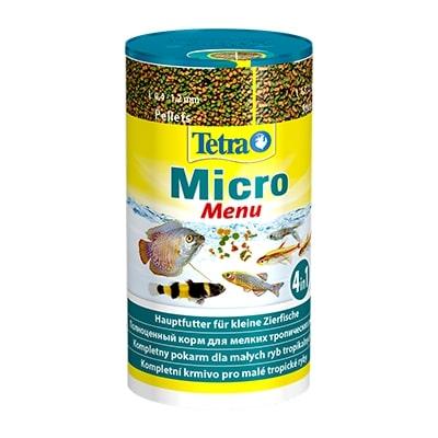 Корм для мелких видов рыб TETRA Micro Menu 100 мл