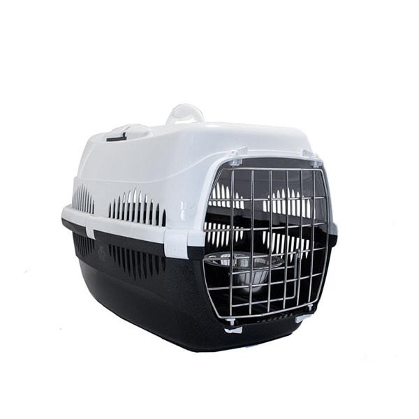 Переноска для кошек спутник zoom 33x49x32 см наплечный ремень