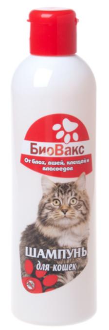 Шампунь от блох для кошек Биовакс 210 мл