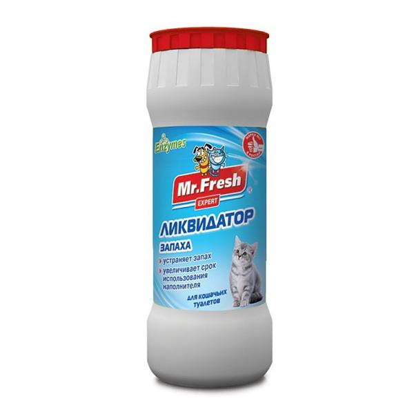 Ликвидатор запаха для кошек Мистер Фрэш Эксперт 2 в 1 500 г