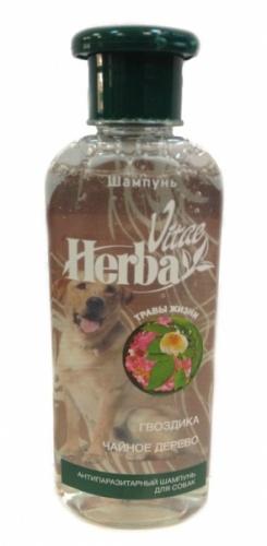 Шампунь для собак антипаразитарный Herba Vitae 250мл