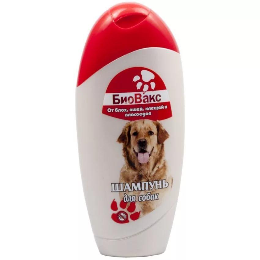 Шампунь от блох для собак Биовакс 210 мл