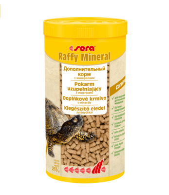 Подкормка для рептилий и черепах SERA Raffy Mineral (Раффи Минерал), 250мл