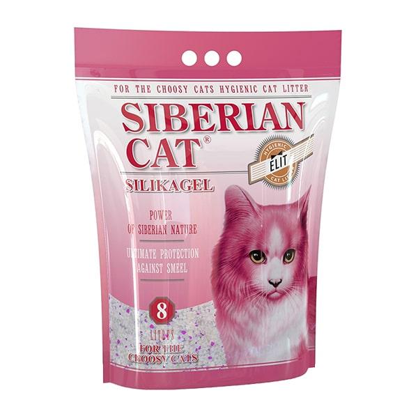 Наполнитель для кошачьего туалета Сибирская Кошка ЭЛИТА для привередливых силикагелевый