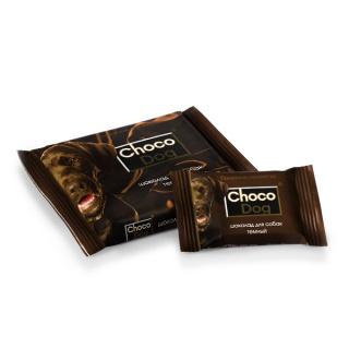 Лакомство для собак Choco Dog (ШОКО ДОГ) темный шоколад