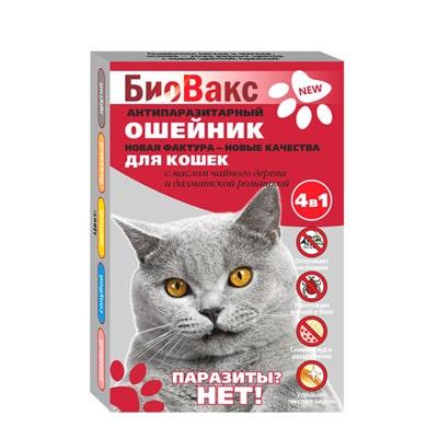 Ошейник Биовакс от блох для кошек