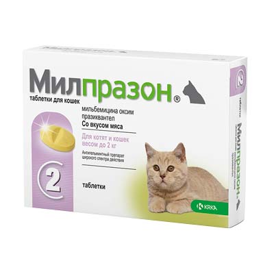 Таблетки от глистов для котят и кошек