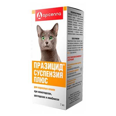 Суспензия от глистов для кошек