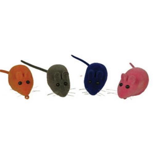 Игрушка для кошек Triol (Триол) мышь велюровая 65мм