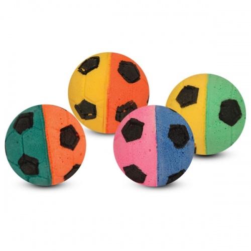 Мяч одноцветный и двухцветный triol (триол) 4см