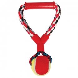 """Грейфер веревка  цвеная ручка -мяч 10"""" triol (триол)"""