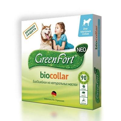 Ошейник Гринфорт от блох и клещей для собак