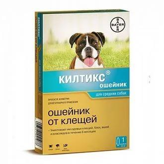против блох и клещей для средних собак 53 см