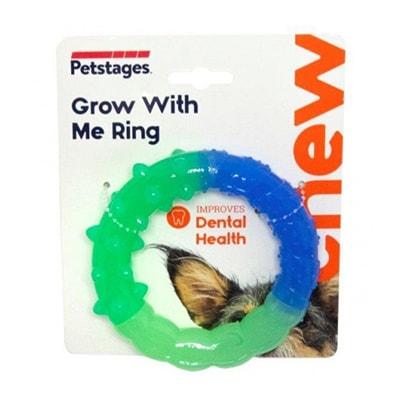 Игрушка для собак Petstages ОРКА кольцо - растем вместе, мультиповерхность, 15 см