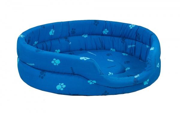 Лежак для кошек и собак Дарэлл овальный бязь