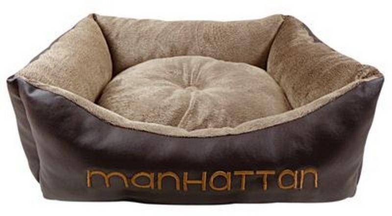 Лежак для собак мягкий MANHATTEN Fauna Int