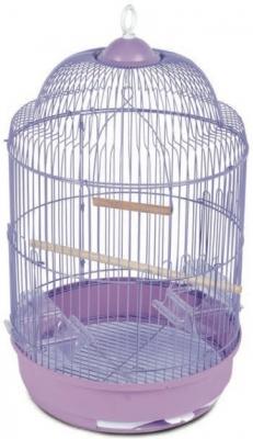 Клетка для птиц №33А(цвет) круглая 33х56,5 см