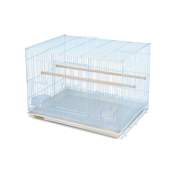 Клетка для птиц №503-К эмаль triol (триол) 595х410х450мм