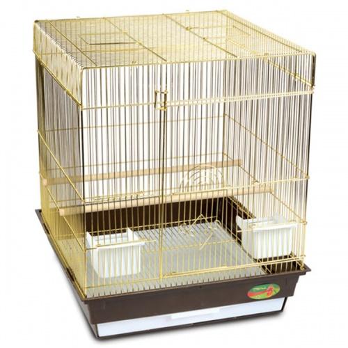 Клетка для птиц №1302(золото) 52х41х59 см