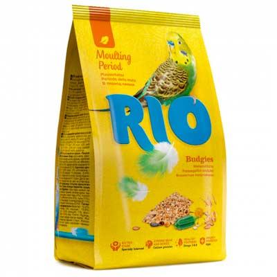 Корм для волнистых попугаев Рио в период линьки