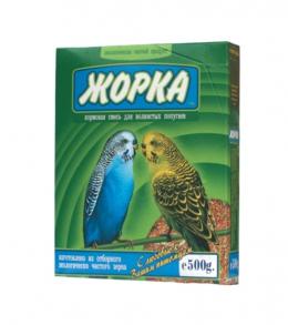 Корм для волнистых попугаев ЖОРКА 500г