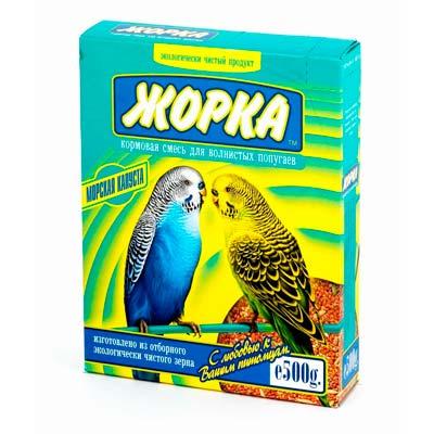 Корм для волнистых попугаев ЖОРКА Морская капуста
